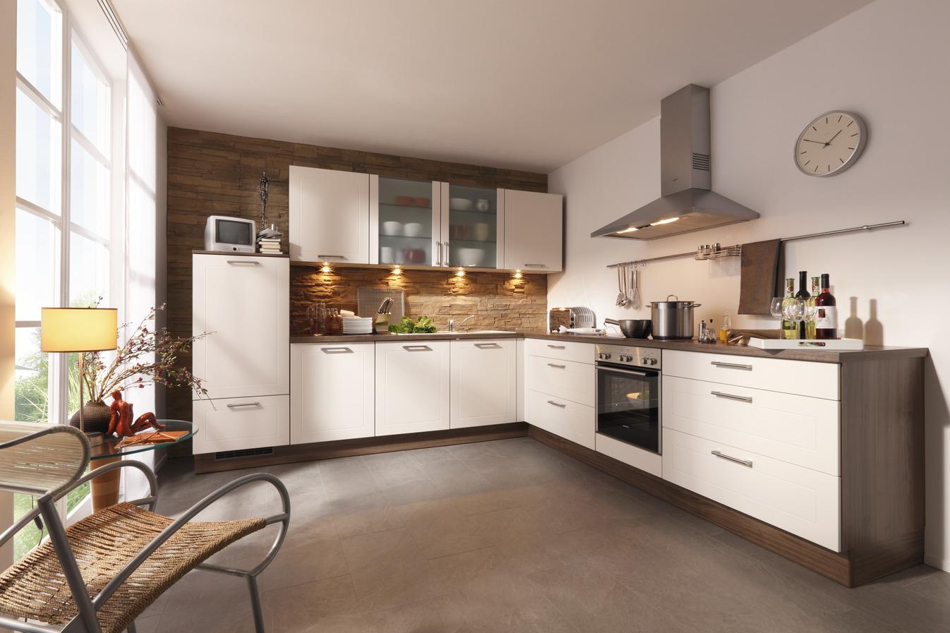 gro e k che in l form. Black Bedroom Furniture Sets. Home Design Ideas